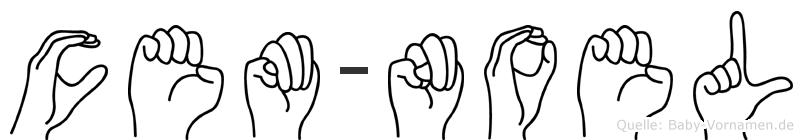 Cem-Noel im Fingeralphabet der Deutschen Gebärdensprache