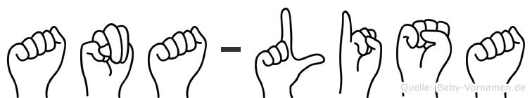 Ana-Lisa im Fingeralphabet der Deutschen Gebärdensprache