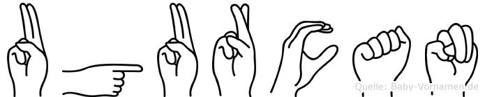 Ugurcan in Fingersprache für Gehörlose