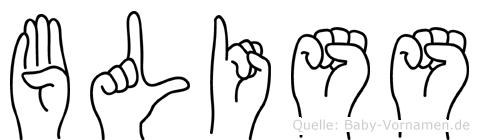 Bliss in Fingersprache für Gehörlose