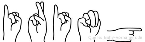 Iring in Fingersprache für Gehörlose