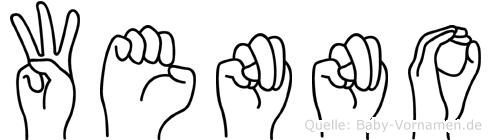 Wenno in Fingersprache für Gehörlose