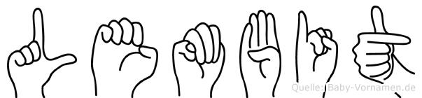 Lembit in Fingersprache für Gehörlose