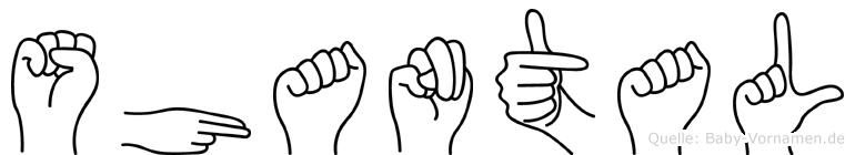 Shantal in Fingersprache für Gehörlose