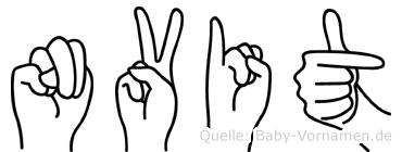 Nüvit in Fingersprache für Gehörlose