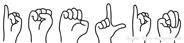 Iselin in Fingersprache für Gehörlose