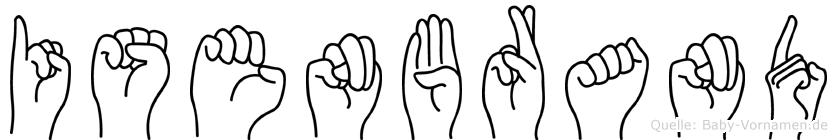 Isenbrand in Fingersprache für Gehörlose