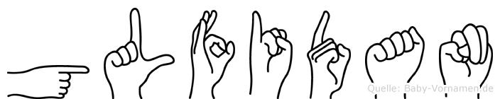 Gülfidan in Fingersprache für Gehörlose