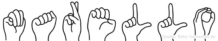 Marello in Fingersprache für Gehörlose