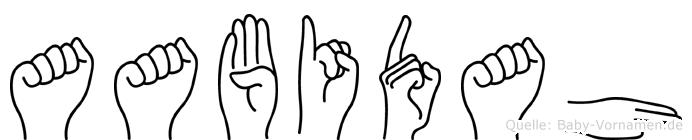 Aabidah in Fingersprache für Gehörlose