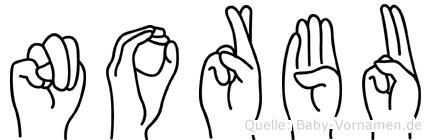 Norbu in Fingersprache für Gehörlose