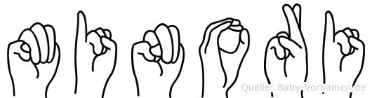 Minori in Fingersprache für Gehörlose