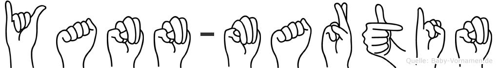 Yann-Martin im Fingeralphabet der Deutschen Gebärdensprache