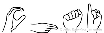 Chai in Fingersprache für Gehörlose