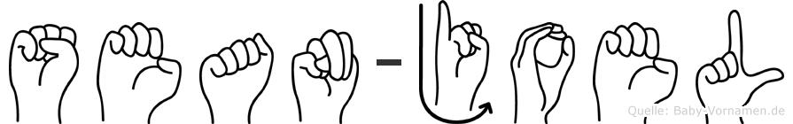 Sean-Joel im Fingeralphabet der Deutschen Gebärdensprache