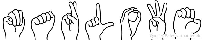 Marlowe in Fingersprache für Gehörlose