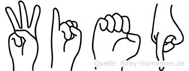 Wiep in Fingersprache für Gehörlose