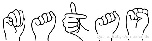 Matas in Fingersprache für Gehörlose