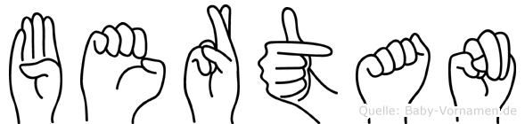 Bertan in Fingersprache für Gehörlose