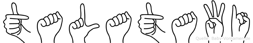 Talatawi in Fingersprache für Gehörlose