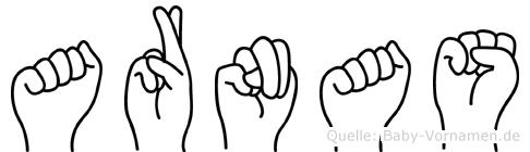 Arnas im Fingeralphabet der Deutschen Gebärdensprache