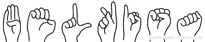 Belkisa in Fingersprache für Gehörlose