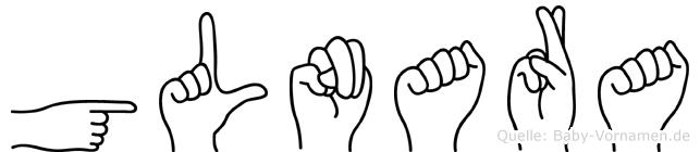Gülnara im Fingeralphabet der Deutschen Gebärdensprache