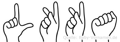Lükka in Fingersprache für Gehörlose