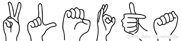 Vlefta in Fingersprache für Gehörlose