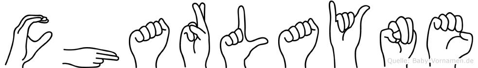 Charlayne in Fingersprache für Gehörlose