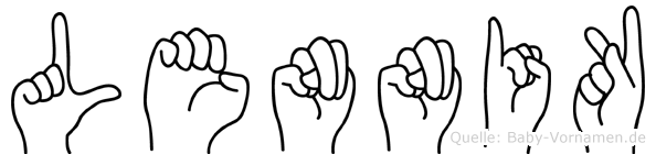 Lennik in Fingersprache f�r Geh�rlose