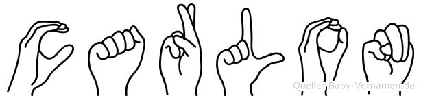 Carlon in Fingersprache für Gehörlose