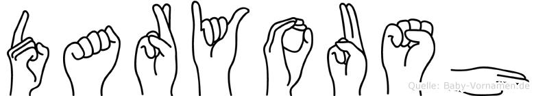 Daryoush in Fingersprache für Gehörlose