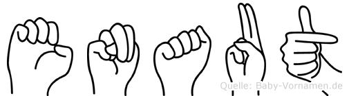 Enaut in Fingersprache für Gehörlose