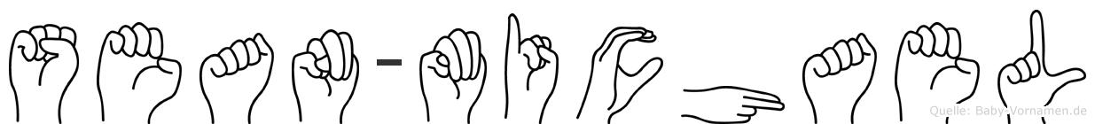 Sean-Michael im Fingeralphabet der Deutschen Gebärdensprache