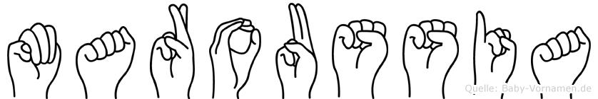 Maroussia in Fingersprache für Gehörlose