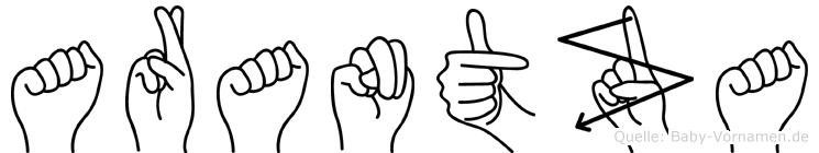 Arantza in Fingersprache für Gehörlose