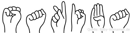 Sakiba in Fingersprache f�r Geh�rlose