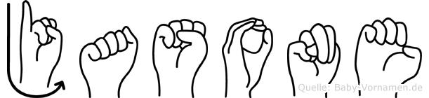 Jasone in Fingersprache für Gehörlose