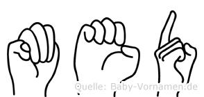 Med in Fingersprache für Gehörlose