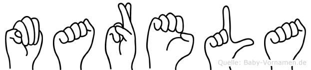 Marela in Fingersprache für Gehörlose