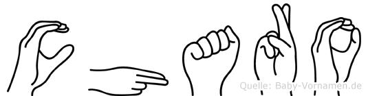 Charo in Fingersprache für Gehörlose