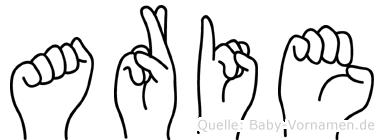 Arie in Fingersprache für Gehörlose