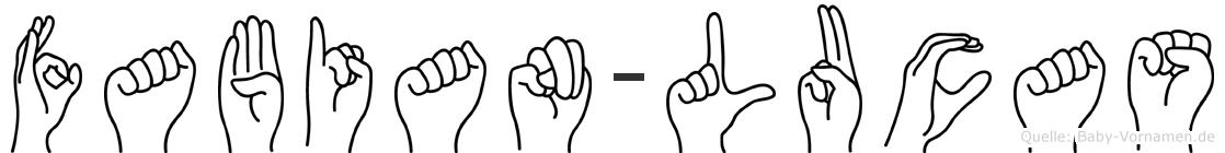 Fabian-Lucas im Fingeralphabet der Deutschen Gebärdensprache
