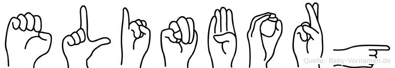 Elinborg in Fingersprache für Gehörlose