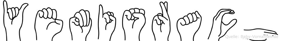 Yemisrach in Fingersprache für Gehörlose