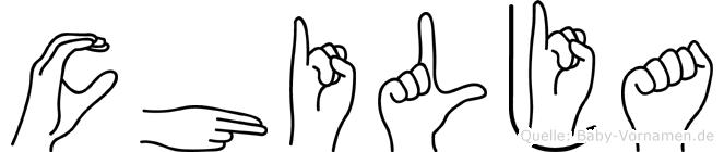 Chilja in Fingersprache für Gehörlose