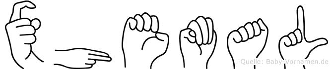 Xhemal in Fingersprache für Gehörlose