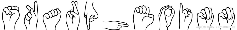 Skarpheoinn in Fingersprache für Gehörlose