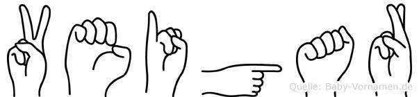 Veigar in Fingersprache für Gehörlose